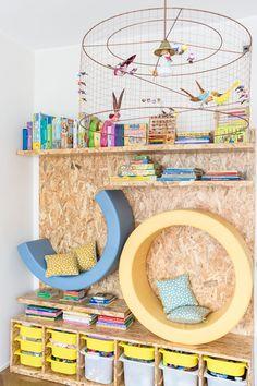Vi presentiamo i diversi progetti d'arredo interno realizzati dalle mamme architetto: Alessandra e Daria per i più piccoli... e non solo camerette.