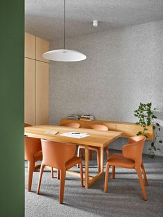 Bryant Alsop Office Hawthorn — Bryant Alsop Architects Martin Brothers, Terracotta, Architects, Dining Table, Furniture, Home Decor, Colors, Dining Room Table, Decoration Home