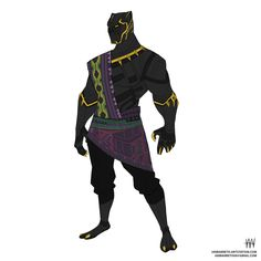 Drawing Marvel studing shapes and hero body type. Comic Book Characters, Marvel Characters, Marvel Heroes, Comic Character, Black Panther King, Black Panther Marvel, Jack Kirby, Character Drawing, Character Design