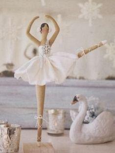 Moldes para hacer muñeca bailarina