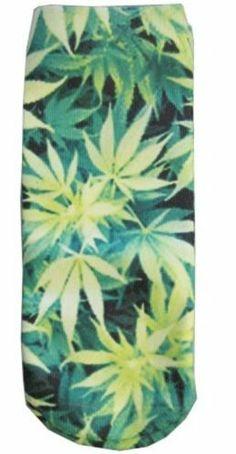 Cannabis Sublimated Socks Style 3