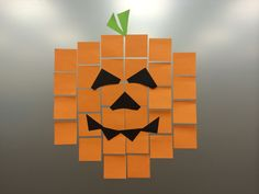 It wouldn't be Post-it art without pixel art - here's a Super Sticky idea for a window, fridge or wall.