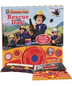 Fireman Sam Sound Book.