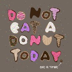 illustration and hand-lettering by Laura Weatherston for national donut day