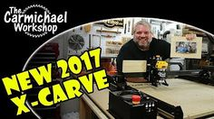 Inventables, the maker of the X-Carve CNC machine, sent me a new 2017 X-Carve kit with upgrades so that I could compare it to the older 2015 model. French Cleat, Cnc Projects, Cnc Machine, Workshop, Carving, News, Youtube, War, Crafty
