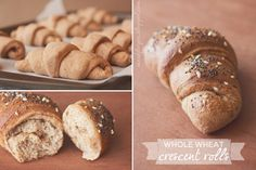 maede.for.you.: Whole Wheat Crescent Rolls {& more!}