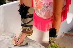 Banjhara Layer Sandal by Layer Boots / Boho Sandal