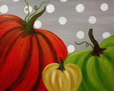I am going to paint Pumpkin Patch Fun at Pinot's Palette - Montrose to discover my inner artist!
