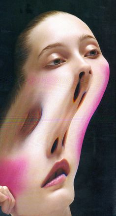 Creative Glitch image ideas & inspiration on Designspiration Distortion Art, Nam June Paik, The Wicked The Divine, Sunday Inspiration, Glitch Art, Glitch Photo, A Level Art, Pics Art, Art Sketchbook