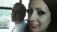 Amy (teeth showing!!! So duh I took this pic lol) and Lee bear :)