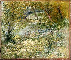 River Bank in Springtime 1887 - Vincent van Gogh