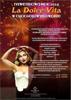 Zapraszamy na noc sylwestrową we włoskim stylu.  #sylwester2014 #ladolcevita Movies, Movie Posters, Alcohol, Films, Film Poster, Cinema, Movie, Film, Movie Quotes