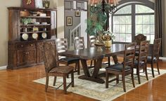 Castlegate 7 Piece Dining Set by Emerald