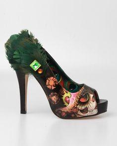 Iron Fist Vanity Fair Platform Shoes - Black (Vegan Friendly)