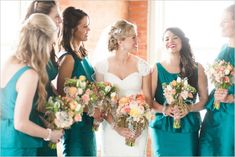 Wedding at The Filter Building Full of Rustic Elegance photographed by Ben Q. Photography.