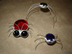 little stained glass bugs by ~Karin80 on deviantART