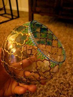 Bottle Painting, Bottle Art, Diy Painting, Glass Painting Patterns, Glass Painting Designs, Design Candle Holders, Glass Candle Holders, Oil Pastel Art, Ship Paintings