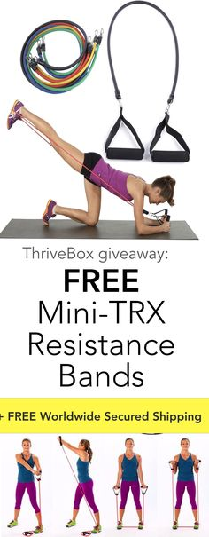 Claim your FREE Mini-TRX Resistance Bands + FREE shipping