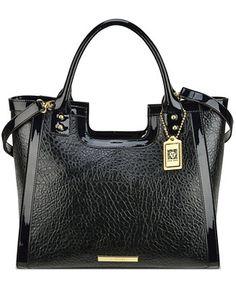 6eea51b83e06 Anne Klein Against the Grain Large Tote Handbags   Accessories - Macy s