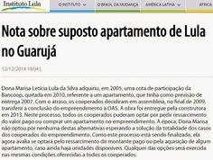 Folha Política: Lula entra em contradição para explicar triplex no Guarujá