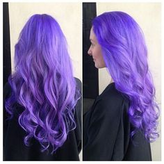 Vivids pastels by pravana combo by candice alice of giusseppe franco salon Violet Hair Colors, Dyed Hair Purple, Dyed Hair Pastel, Hair Colour, Lavender Hair, Lilac Hair, Lavender Ideas, Pravana Hair Color, Pravana Pastels