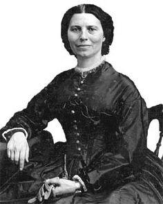 Clara Barton, Civil War nurse and founder of American Red Cross