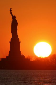 Statue of Liberty Sunset, NY