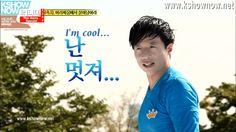 I'm Cool~ Yoo Jae Suk  #RunningMan #Grasshopper hahahahahahaha HIS FACE