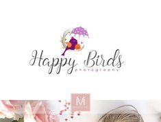 Photography Logo Floral Logo Baby Boutique Logo by MaggieArtStudio