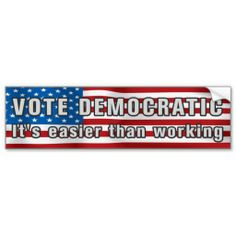 Bumper Stickers Therefore I Vote Republican I Think Support Conservative