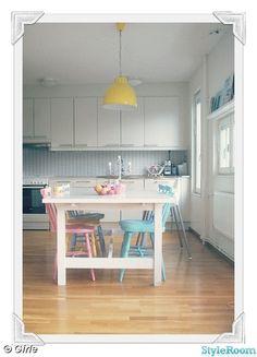 pastell,kök,pinnstolar,diy,ikea norden