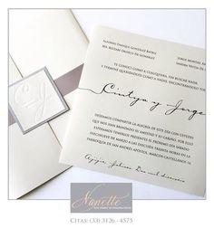 Diseño especialmente hecho para Liliana y Juan Carlos.