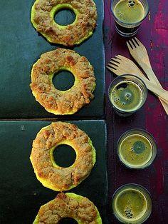 Dessert: Ananas mit Amarettini und Chili
