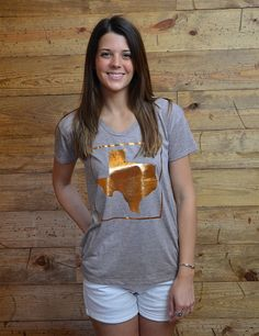 Everything is bigger and better, and now shiny-er in this Texas tee!