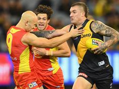 DAMIEN Hardwick believes Richmond has taken a bit of a step forward after outlasting Gold Coast in a pulsating arm wrestle at the MCG. Richmond Football Club, Australian Football League, News Stories, Gold Coast, Rugby, Tigers, Thriller, Guys, Celebrities