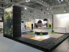 Parador stand at Branchentag Holz by Preussisch Portugal, Cologne – Germany » Retail Design Blog