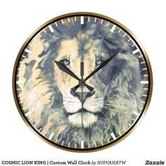 COSMIC LION KING   Custom Wall Clock