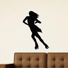 Wall Decal Vinyl Sticker Sport Gym Girl Skater Ice Figure Skating Decor Sb630 ElegantWallDecals http://www.amazon.com/dp/B0120CML7K/ref=cm_sw_r_pi_dp_qbkYvb1R01FE1
