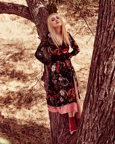 Dakota Fanning in Gucci for Town & Country Magazine, November 2016.