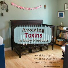 Eco-novice: Avoiding Toxins in Baby Products. What to look for; what to avoid; products I've used.