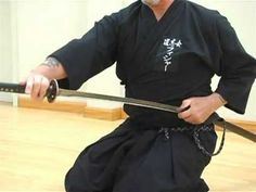 Deconstructing Seitei-Mae, the first formal exercise (kata) of modern Iaido - YouTube