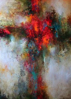 Colorful Painting Series Santa Fe Large abstract contemporaryTexas Dallas Houston Austin California New York Art - Cody Hooper Art #abstractart