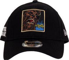 on sale a6352 7a974 Star Wars Chubacca New Era 940 Black Baseball Cap – lovemycap Black  Baseball Cap, Baseball