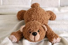 crochet huggable bear