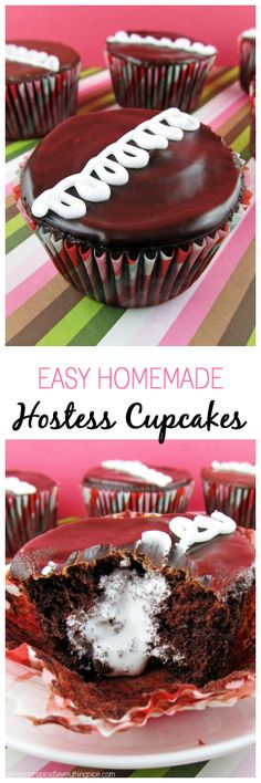 A copycat Hostess cupcake recipe that you will fall madly in love with! Or that may cause someone to fall in love with you.
