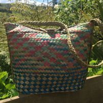 Large Kete Bucket Bag #4
