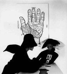Irving Penn, The tarot reader, NYC, 1949