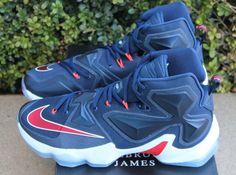 "Nike LeBron 13 ""USA"" celebrates the Olympics a few months early. wp.me/prmSb-GSA"