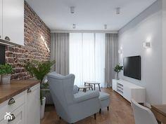 GOOD VIBES ONLY - Salon, styl skandynawski - zdjęcie od UTOO- pracownia architektury wnętrz i krajobrazu