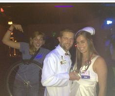 "Love this! Go as ""a third wheel"" for Halloween!"